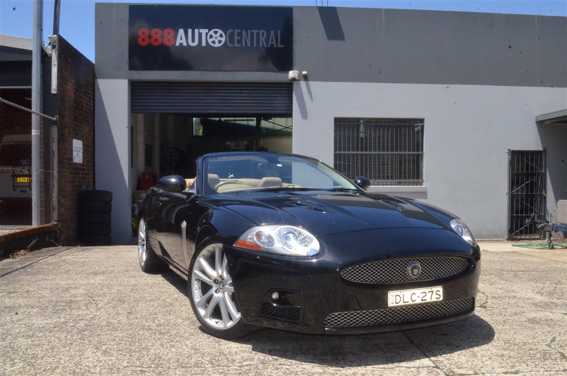09 Jaguar XKR